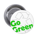 go green recycle pin
