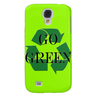 Go Green Recycle Symbol Iphone 3 Speck Samsung Galaxy S4 Covers