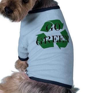 Go Green Recycle Symbol Pet Tshirt