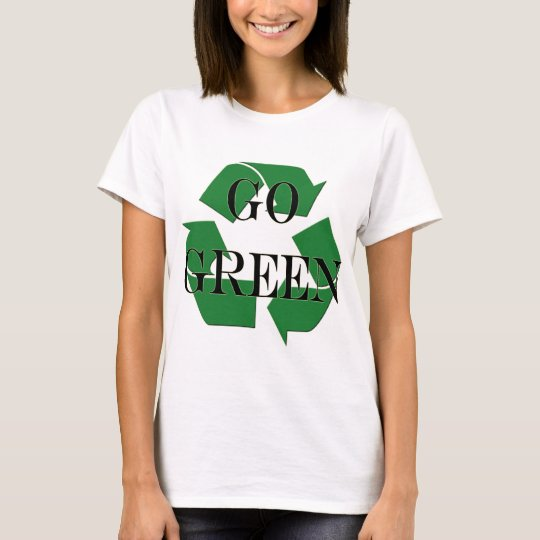 Go Green Recycle Symbol T-Shirt