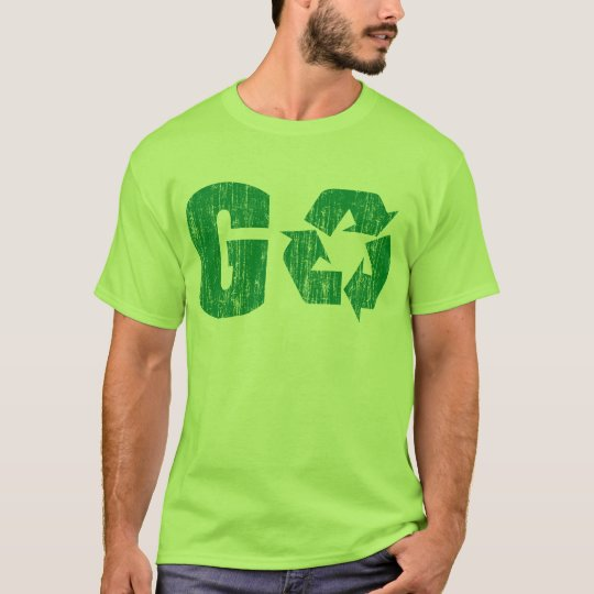 Go Green Recycle T-Shirt