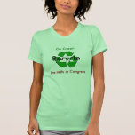 Go Green - Recycle the Reds in Congress T Shirts