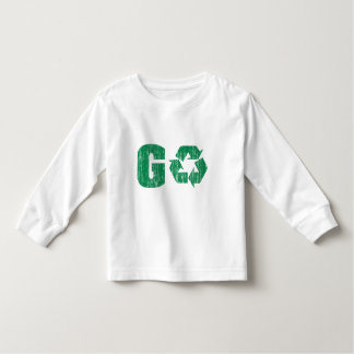 Go Green Recycle Toddler T-shirt