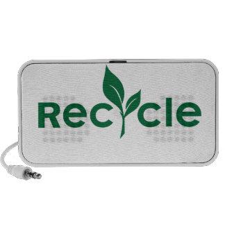 Go green! recylce laptop speakers