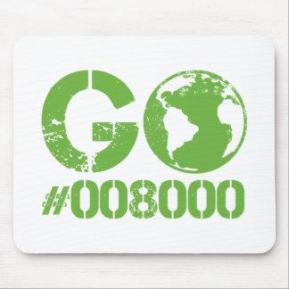 Go Green RGB CMKY Mouse Pad