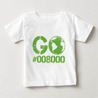 Go Green RGB Design Baby T-Shirt