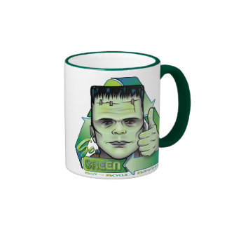 Go Green Ringer Coffee Mug