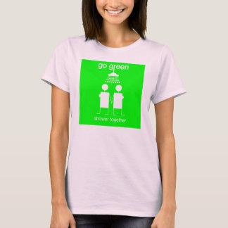Go Green - Shower Together WW T-Shirt