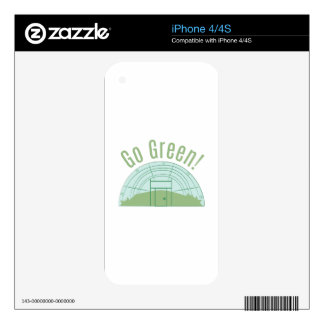 Go Green! Skin For The iPhone 4S