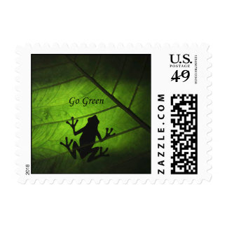 Go Green - Small Postage