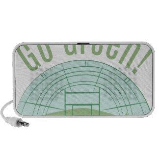 Go Green! Travel Speakers