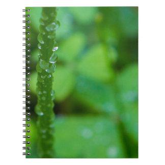 Go Green Spiral Notebook