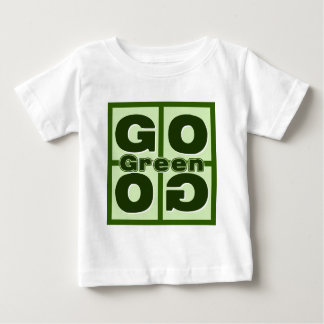 Go Green Square Baby T-Shirt