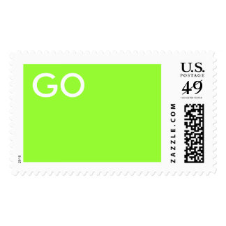 GO Green Stamp - Customized - Customized