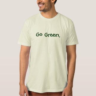 Go Green. T-Shirt