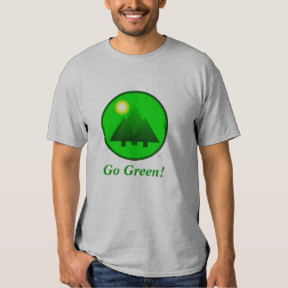 Go Green T-Shirt! Protect the Environment T-Shirt