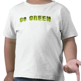 Go Green Toddler T-shirts
