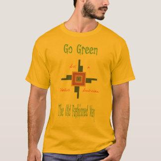 Go Green Tee. T-Shirt