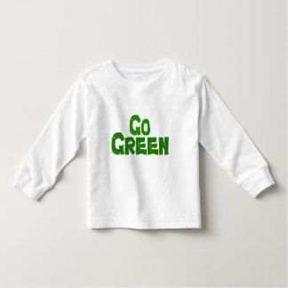 GO Green Toddler T-shirt