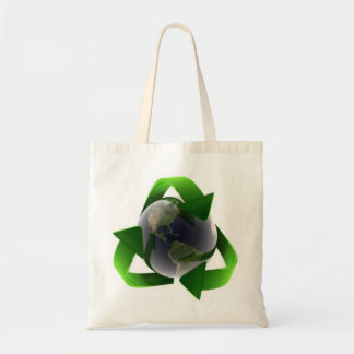 Go Green Tote Budget Tote Bag