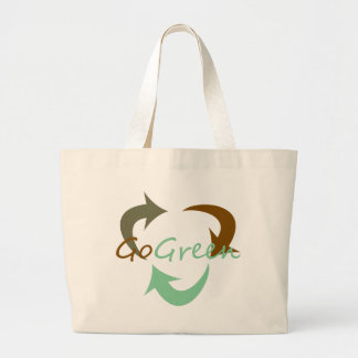 Go Green Tote Bags