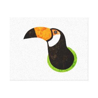 Go Green Toucan Toco Canvas Print