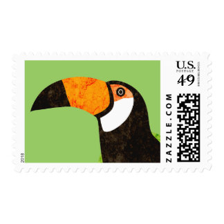 Go Green Toucan Toco Stamps