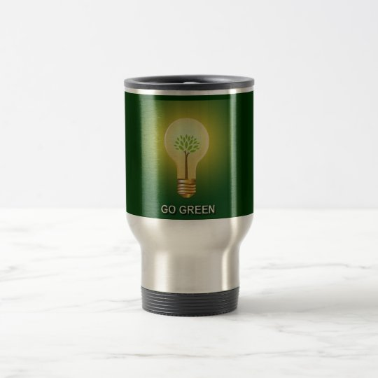 GO GREEN TRAVEL MUG