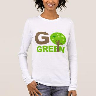 Go Green Tree Long Sleeve T-Shirt