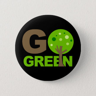 Go Green Tree Recycle Button