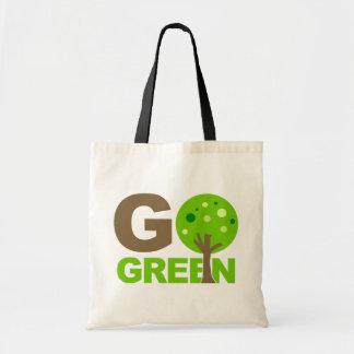 Go Green Tree Tote Bag