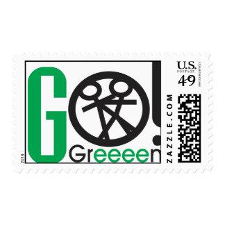 go-green U.S.Postage Postage