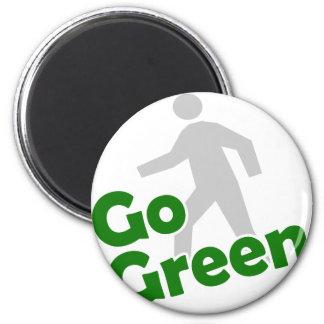 go green walk magnet
