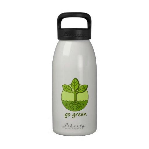 Go Green Water Bottle 16 oz.