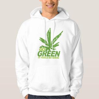 Go Green Weed Hoodie