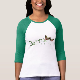 Go Green With Bernie; Sanders 2016 T-shirt