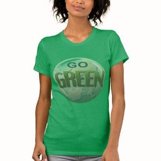 Go Green Women's Jersey T-shirt