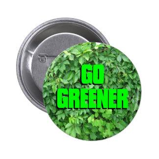 Go Greener 2 Inch Round Button