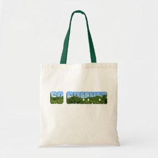Go Greener Budget Tote Bag