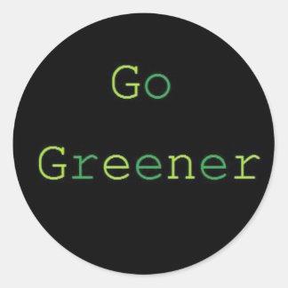 Go Greener Sticker