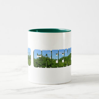 Go Greener Two-Tone Coffee Mug