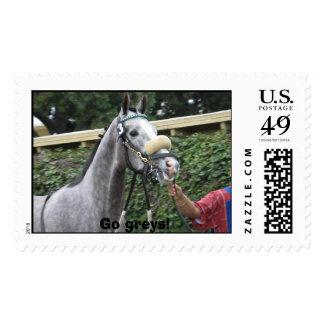 Go greys! stamp