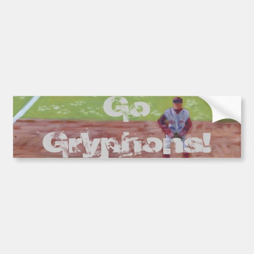 Go Gryphons Car Bumper Sticker