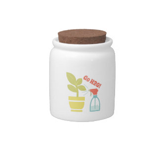 Go H2O Candy Jars