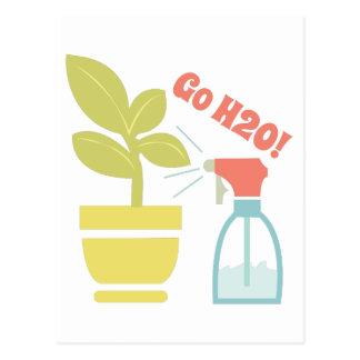 Go H2O Postcard