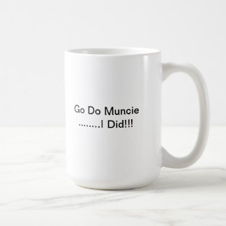 Go hace la taza de Muncie
