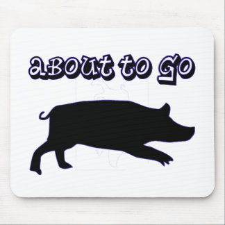Go Ham! Mouse Pad