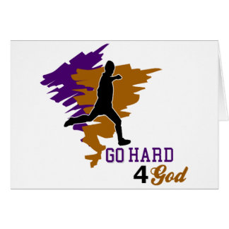 Go Hard 4 God Card