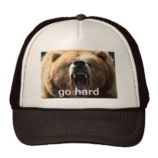 Go Hard Bear Hat