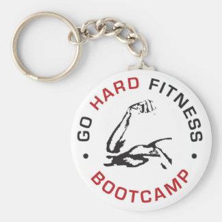 GO HARD Bootcamp Keychain